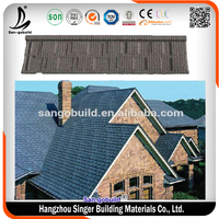 50 Years Chinese Clay Material Plain Roof Tile For Concrete Roof Tile