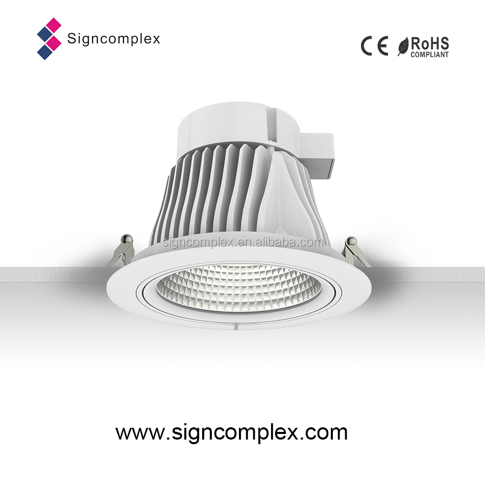 Cob led concealed ceiling light 25w with ce rohs dali ies - Concealed led ceiling lights ...