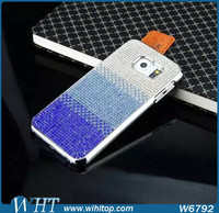 New Arrival Luxury PC Hard Cover Crystal Diamond Phone Case for Samsung Galaxy S6