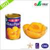 ISO HACCP Certification and Syrup Preservation Process canned yellow peach
