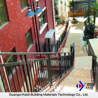 Modern Outdoor Metal Steel Stair Railing