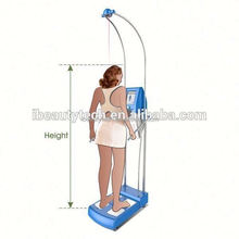 GS6.6 hot new products bmi height weight machine /human body analyzer