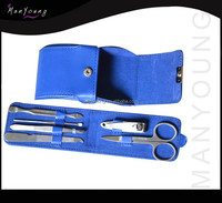 Fashion pu case Nail Care Clipper Pedicure Manicure Kits