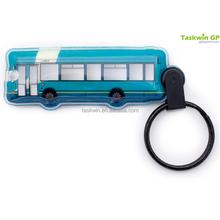 Hot product for 2015 reflective PVC LED keychain , Custom reflective keychain