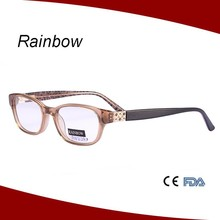 Acetate material optical frames and quality@ CE, FDA standard