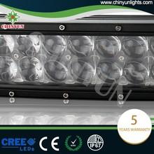 400W 12V spot flood combo 4D led light bars for off road long lifespan