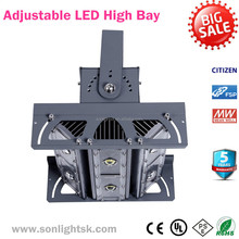 alibaba express china factory high quality IP65 adjustable module COB led high bay light