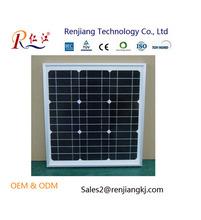 High Quality 220W Mono Silicon solar panel module 6*9