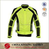 Superb Quality Men Mesh Textiled Padded Mesh mabfric Motorcycle Racing Jackets