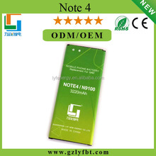 superior quality Original Battery for Samsung Note4 Mobile Phone battery cheap price