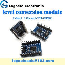 100% new 74LVC8T245 8 channel TTL COMS level conversion module