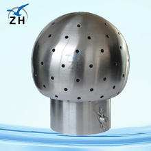 cleaning ball connection for ball valve
