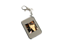 video playback ad player 1.5 inch mini keychain Digital photo Frame with 2GB/4GB/8GB Flash for optional