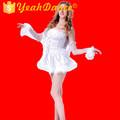 La scène des Costumes de danse blanc robe de danse de fées