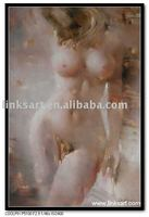 Impressionist Female Body Oil Painting