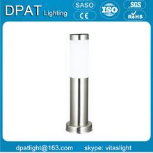 decorative aluminum garden solar led bollard light with CE RoHS