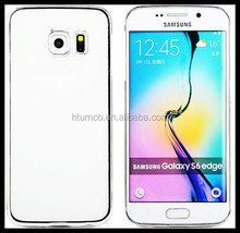 Wholesale special case,colored case,PC Case with Electroplating for Samsung S6