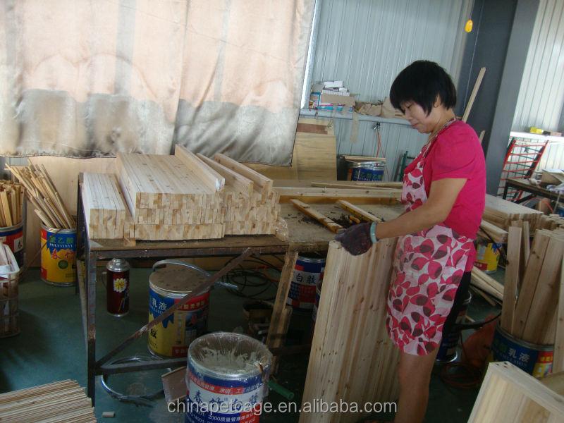 Vente chaude en bois chenil HX-G-024