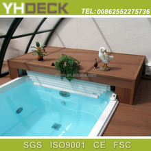 waterproof outdoor balcony composite wpc floor