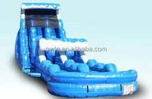 Commercial Wet or Dry Giant Inflatable Slip and Slide with Double Lane