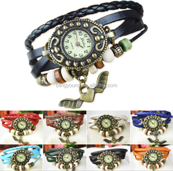 High quality various designs vintage Style ladies women's wrist watches for women