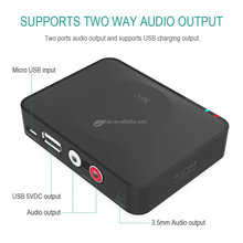 DIHAO OEM Bluetooth Audio Receiver, NFC Enabled Bluetooth 3.0 Wireless Audio Adapter 3.5mm