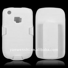 TWO-PIECES HARD SNAP ON CASE COVER+BELT CLIP+KICHSTAND FOR BLACKBERRY CURVE 8520/9300