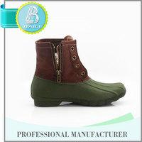 Newest Design Useful Latest design Rain blue jeans high heel women boots