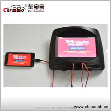 7'' tft lcd Car Headrest monitor with hdmi input/ USB, SD Card slot