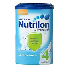 4 Dreumesmelk leche infantil del bebé de escena Powder 4 ( 800 g ) 100% origen de países bajos ( holanda )