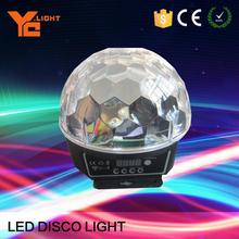 OEM Provided Stage Equipment Producer 6x3w Led Ball Led Rotating Lights