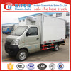 Changan mini refrigerator truck diesel refrigeration van for sale