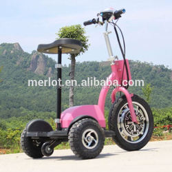 New design three wheeler standing up four wheel motorcycle for sale with big front tire