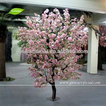 BLS024 GNW 6ft Chrismas pink color artificial decorative cherry wedding flowers tree for indoor use