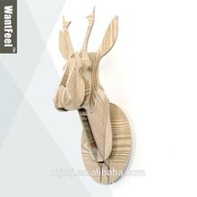 Chino tallado paneles de madera animales tapices