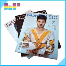 China Low cost top quality custom full color glossy cheap magazine printing