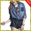 Stylish designer denim jeans jacket women