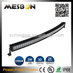 Innovative 3D reflector light bar single