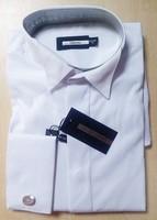 2015 New Summer Autumn Men Fashion Stripes Shirts Long Sleeves Formal Male shirt Top Quality Free Shipping