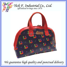 Elegant Sharp Print Hand-Carry Coated Canvas Ladies Women Mini Tote bag