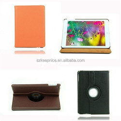 2015 New Luxury 360 Degree Rotating Stand leather case for Ipad air
