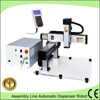 Industrial belt conveyor automatic epoxy glue dispensing robot/Double liquid pouring machine