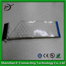 Tin plating cable FFC,flat tin palating copper ffc cable,ffc cable used in DVD player