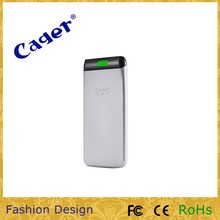 wholesale power bank! portable extra thin polymer power bank charger 5500mah