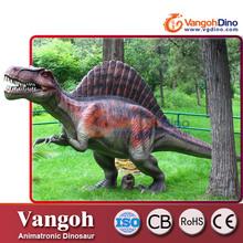 VDG715 animales animatronic dinosaurio diversión animales en resina de tamaño natural