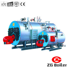 Horizontal industrial oil type steam boiler
