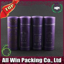 popular custom packaging for hair extension / paper cylinder