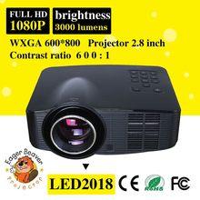 Full hd mini led projector 1920x1080 hot sell trade assurance supply full hd projector 800x600 full mini pocket led projector