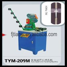 Automático open-end Zipper máquina de perfuração