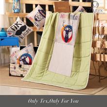 Environment friendly branded blanket
